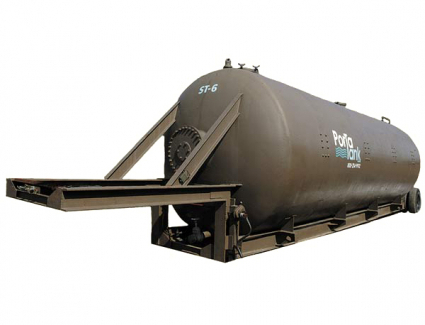 Vacuum Rated Mobile Storage Tank