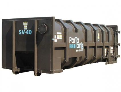 Vacuum Roll Off Box Container