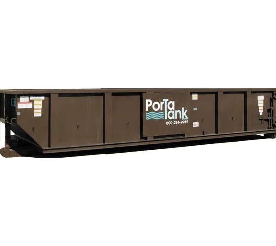 Open Top Sludge Container